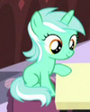 Lyra Heartstrings filly ID S5E12