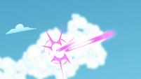 Magic beam destroys cloud S5E26