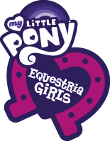 My Little Pony Equestria Girls logo Hasbro.com teaser site