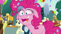 "Pinkie Pie ""I'm not much of a blinker"" S7E23"