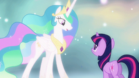 Princess Celestia you will be S3E13
