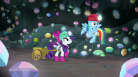 "Rainbow ""we could find a treasure chamber"" S8E17"