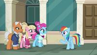 Rainbow --I need somepony fast enough-- S6E9