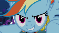 Rainbow Dash prepares to attack S4E02