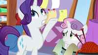 "Rarity ""we've been through this!"" S8E12"