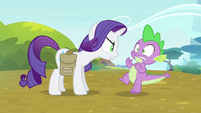 Rarity -what do you think you're doing-!- S4E23