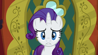 Rarity biting her lower lip S6E12