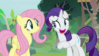Rarity laughing with embarrassment S8E4