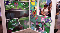 SDCC Power Ponies stand