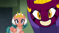 Somnambula and the sphinx look at Hisan S7E18