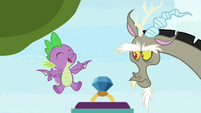 """Spike """"don't leave anything out!"""" S9E23"""
