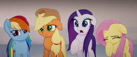 Twilight's friends aghast at what she said MLPTM