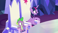 "Twilight ""glad Spike brought you here"" S8E24"