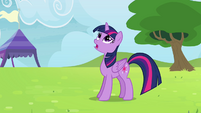 Twilight -one of the teams you're practicing with- S4E10
