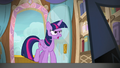 Twilight Sparkle approaches the cruise director S7E22.png