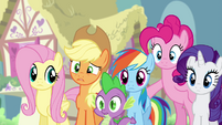 "Applejack ""as in 'Discord' Discord?"" S4E25"