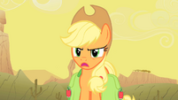 Applejack -Oh yeah... about what-- S1E21