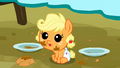 Applejack as a baby cuteness S3E8.png