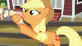 Applejack grabs the checklist back S6E10.png