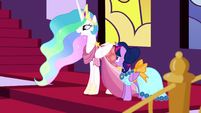 "Celestia ""just enjoying the Gala for once"" S5E7"