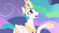 Celestia still speaking very softly S8E7