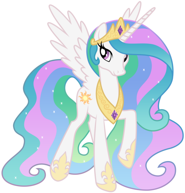 FANMADE Princess Celestia Walking