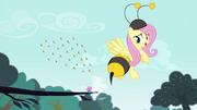 Fluttershy vestida como uma abelha T4E16