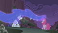 Nightmare Moon mist at the cliff bottom S1E02.png