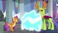 Ocellus dropping her dragon disguise S8E1.png
