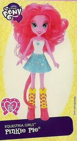 Pinkie Pie Equestria Girls doll pamphlet