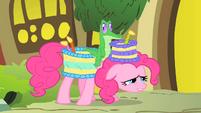 Pinkie Pie invites Fluttershy S1E25