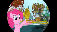 Pinkie Pie trombone iris out S1E10