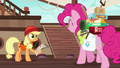 Pinkie meets Applejack at the docks S6E22.png