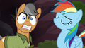 Quibble Pants frightened and excited S6E13.png