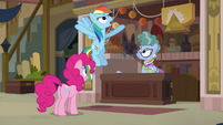 "Rainbow Dash ""curse of the Doomed Diadem"" S7E18"