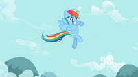 Rainbow Dash 'like a bullet' S2E07