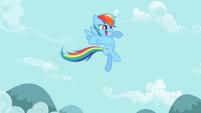 Rainbow Dash 'like a bullet' S2E07