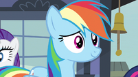 Rainbow Dash getting it yourself S3E12