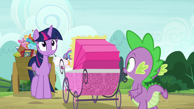"File:Spike ""only four-and-a-half minutes late"" S7E3.png"