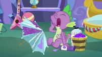 Spike yawning MLPBGE