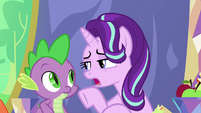 "Starlight Glimmer ""you're telling Twilight"" S7E15"