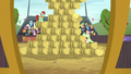 The hay bale stack event continues S5E6.png