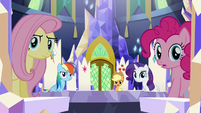 Twilight's friends speechless S5E22