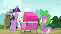 "Twilight Sparkle ""four and a half-!"" S7E3"