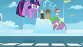 Twilight and Spike gets taken above S5E26.png