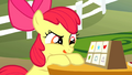 Apple Bloom sticks her tongue out in concentration S1E18.png