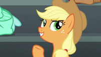 Applejack --except maybe cotton candy-- S6E7