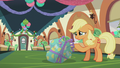 Applejack in happy tears S5E20.png