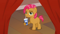 Babs Seed drinks out of a movie character S3E4.png