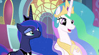 "Celestia ""I realize this is a lot to take in"" S9E1"